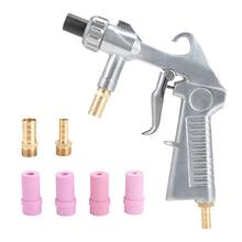 Abrasive Sandblasting Gun Air Siphon Feed Nozzle Pneumatic Blasting Machine Sand Kit