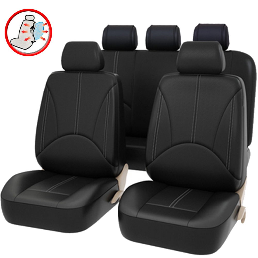 PU Leather Car Seat Cover Set Universal Car Covers for <font><b>Mercedes</b></font> Benz Class B W245 <font><b>W246</b></font> <font><b>B180</b></font> Class G W460 W461 W463 image