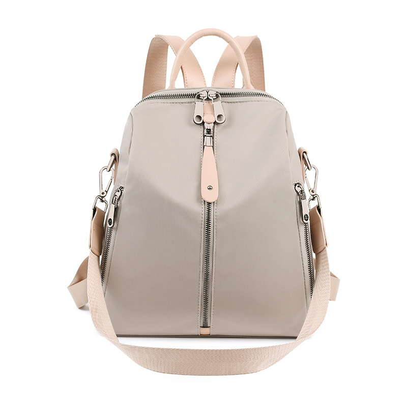 Women Leather Backpacks High Quality Rucksacks For Girls Solid Travel Luxury Designer Bagpack Ladies Sac A Dos Female Pack C1246