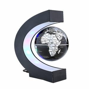 Image 4 - Bolas magnéticas de levitação, led flutuante, mapa do mundo, luz em formato de c, antigravidade, bola magnética, decoração de casa, aniversário, dropship