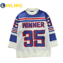 Girls Sweater Pullover Winter Children New Autumn Fashion Korean And Spring LINLING P751