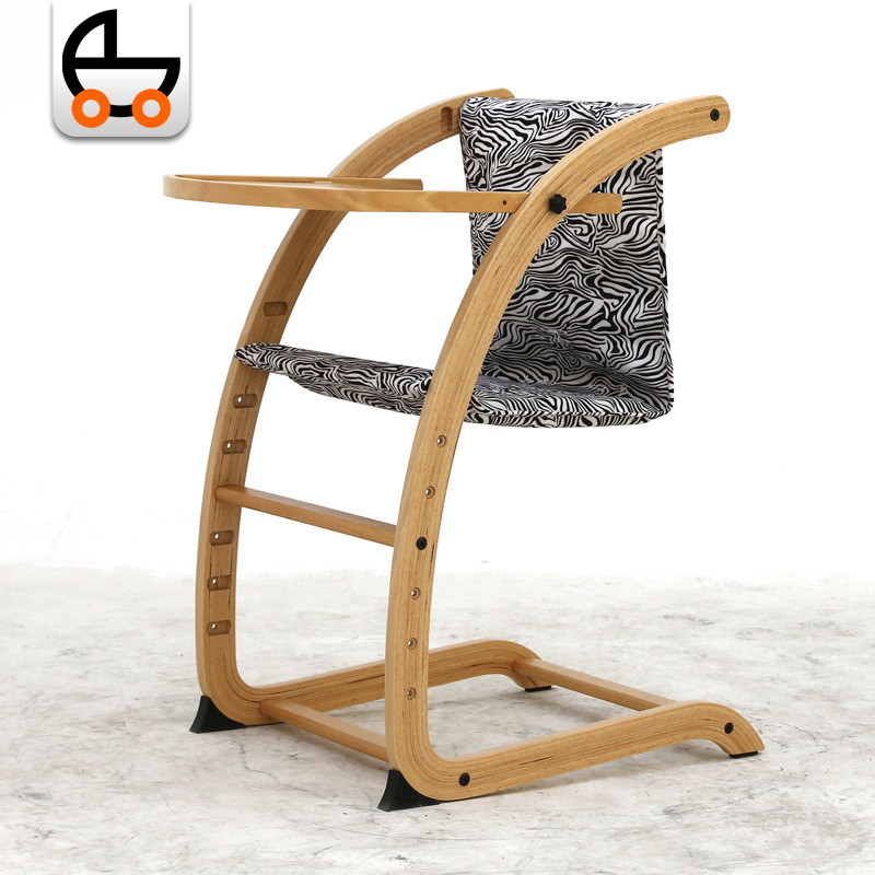 0523 Soerer Children's Dining Chair BB Baby Wood Growth Chair Folding Wholesale Special Gift M570