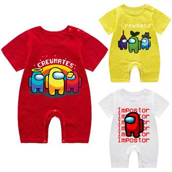Romper ubranka dla dzieci dziewczynka ubranka dla dzieci boutique baby boy ubranka dla chłopca piżama romper baby boy letnie ubrania tanie i dobre opinie COTTON CN (pochodzenie) CZTERY PORY ROKU Dziecko dla obu płci W wieku 0-6m 7-12m 13-24m 25-36m W stylu rysunkowym Z okrągłym kołnierzykiem