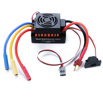 Mini Motor 80A 2-6S or 1/10 60A ESC Brushless ESC Speed Controller for RC Toys Airplane Helicopter Plane Part Accessory R7RB hobbywing ezrun max10 120a 2 4s waterproof brushless esc speed controller 6v 7 4v bec output for 1 10 rc car truck monster scts