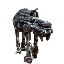 Bela 10908 serie de primer orden heavy assault walker bloques de construcción de ladrillos 75189 juguetes para niños
