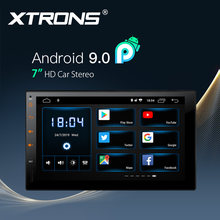 "XTRONS Universal 7 ""unidad Android 9,0 coche Multimedia Player Radio equipos de Video de 1080p volante GPS RCA OBD NO DVD(China)"
