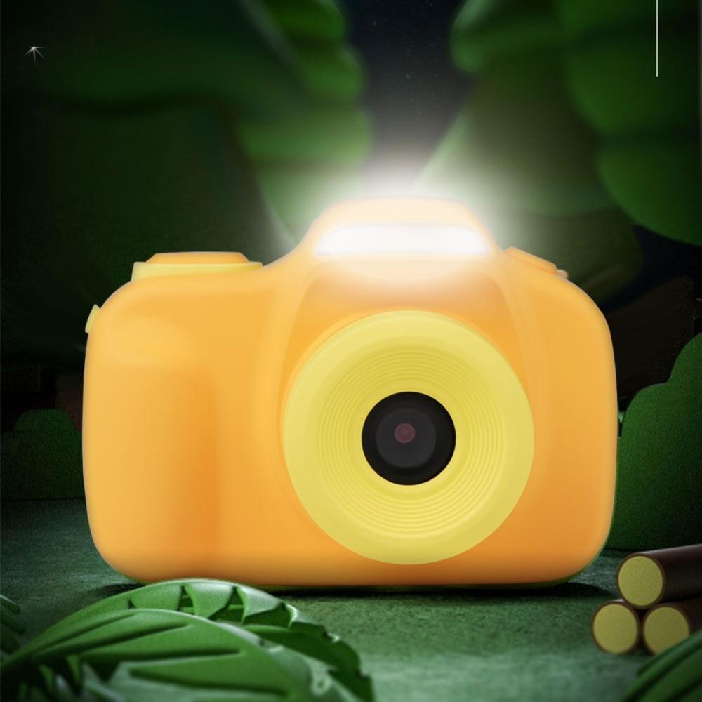 Портативная Детская цифровая камера 20 МП, 2 дюйма, HD 1080P, экран с защитой от тряски, Детская камера с 4-кратным цифровым зумом, видеокамера для ...