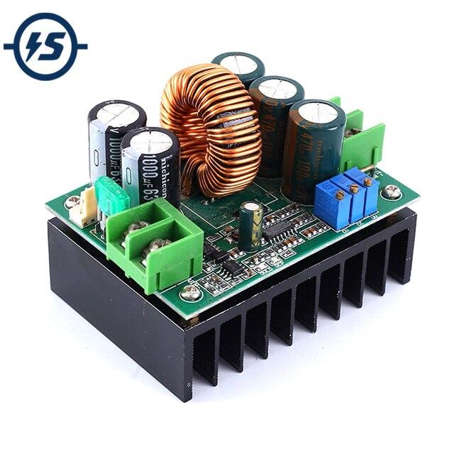 DC DC Solar Charge Controller Module Battery Charge Controller Vehicle Storage Charging Module 12V 24V 36V 48V 60V 72V 1200W 20A