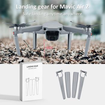 Klasyczny zestaw do lądowania zestawy do DJI Mavic Air 2 Drone praktyczny wielofunkcyjny trwały ochraniacz na nogi stojak na stopy Extender tanie i dobre opinie vanpower CN (pochodzenie) 19 g Landing Gear 95x50x20mm