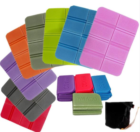 Fashion Convenient Outdoor Folding Foldable Foam Seat Waterproof Chair Cushion Pad Mat
