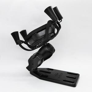 Image 3 - Universal Motorcycle Scooter Aluminum Brake/Clutch Reservoir Cell Phone Mount Holder Stand for 4 5.5 inch Smart Phones and GPS