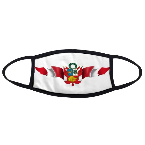 Peru Flag National Emblem Face Anti-dust Mask Anti Cold Maske Gift