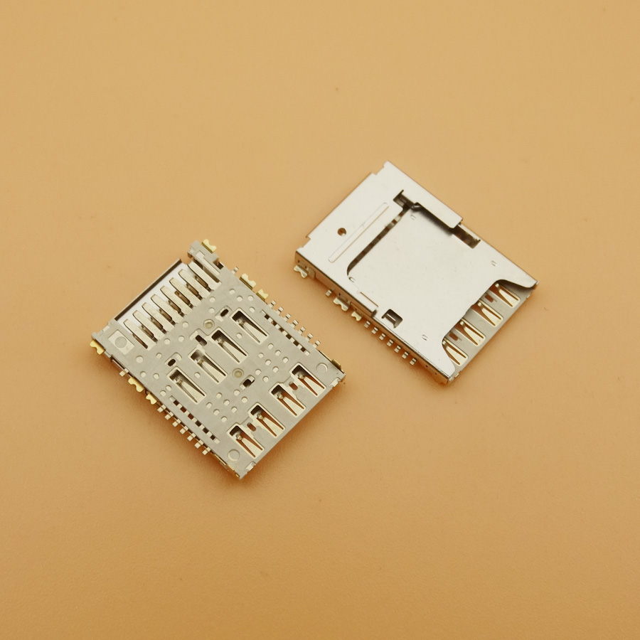 Generic 2pcs SIM Micro SD Memory TF Card Tray Reader Slot Holder Socket for LG G3 D850 D851 D855 D857 D858 D859 F400 VS985