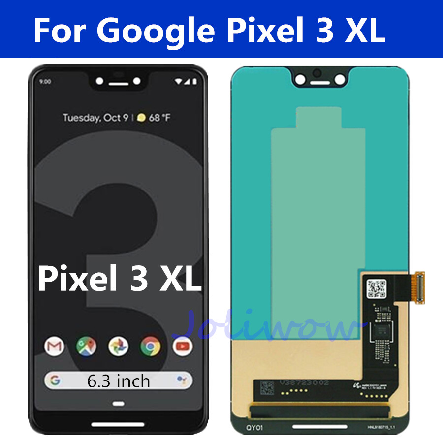 "6.3"" For Google Pixel 3 XL LCD Display Touch Screen Digitizer Assembly For Google Pixel 3 LCD Screen pixel 3 xl lcd"