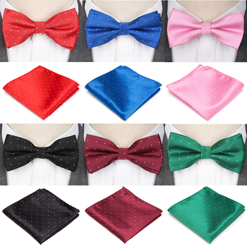 Mens Tie Bowtie Handkerchief Set Fashion Butterfly Party Wedding Bow Gifts for Men Candy Solid Color Bowknot Accessories Bowtie plus size bowtie tie dye handkerchief t shirt
