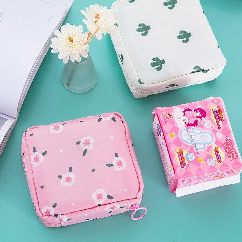 НОВАЯ Портативная сумка для хранения тампонов, вместительная сумка для хранения полотенец, женские салфетки, косметички для девочек, сумка ...