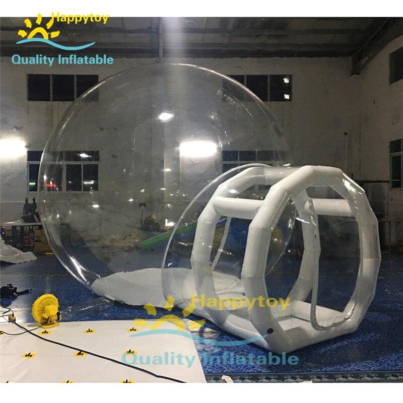 Commercial Outdoor Bubble Tent Transparent, Outdoor Inflatable Transparent Tent, Camping Inflatable Bubble Tent