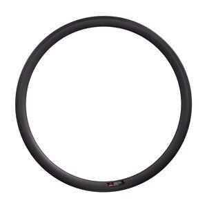 Image 1 - Carbon Wheel 650C 38mm/50mm Clincher 20.5mm Width V brake Rim Full Carbon Fiber Front/Rear Rim for Road Bicycle