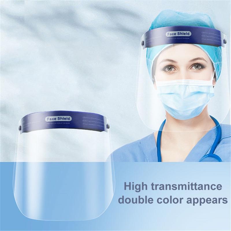 2/4/10pcs Face Mask Transparent Visor Shield Dustproof Windproof Face Screen