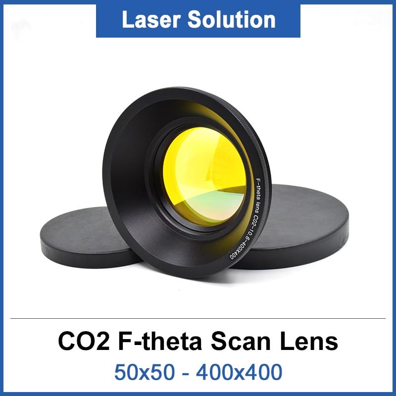 US Stock Fiber Laser Machine Scanning Lens 300 x 300mm Area F Theta Lens M85