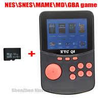 Con 512M \ 32G Carta di Tf Retro Palmare Console di Video Giochi per Nes \ Snes \ Mame \ Md \ Gba 16 Bit Arcade I Giocatori di Gioco Portatili 10000 Giochi Tv Out