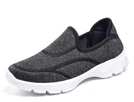 YEELOCA 2020 Ladies Causal Platform Comfortable Lissome Female Shoes Breathable Fabric Sneaker Slip On Women Shoes ZX1013
