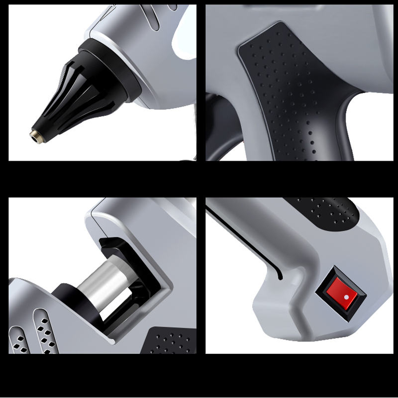 Hand With Hot 30PC EU Use Tool Heat Hot Gun DIY Glue Air 11mm Sticks Repair Bag Gun And Melt AI 200W Glue ROAD