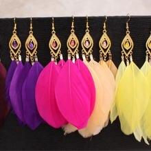 Модные серьги в этническом стиле женские вечерние подарок на