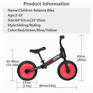 Image 5 - Vélo brillant pour enfants à cheval à roues de 2/4 roues, ajustable, vélo léger, costume pour enfants de 2 6 ans, idée cadeau