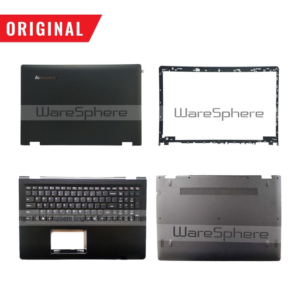 New Original for Lenovo Flex 3 1570 Flex 3 15 Yoga 500-15 LCD Back Cover Bezel Palmrest Bottom Base Case  5CB0H91141 5CB0J34096