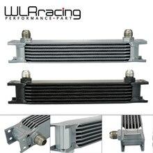WLR RACING-Универсальный алюминиевый масляный радиатор трансмиссии двигателя британского типа 7 рядов WLR7007