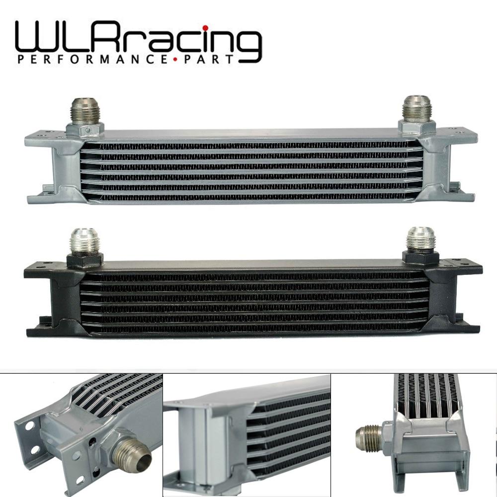 WLR RACING - British type Aluminum Universal Engine transmission oil cooler 7 rows WLR7007