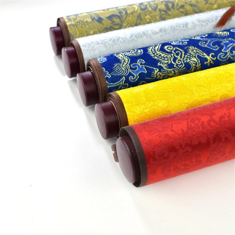 Ornate Classic Reusable Chinese Calligraphy Brush Water Writing Magic Cloth QX2B