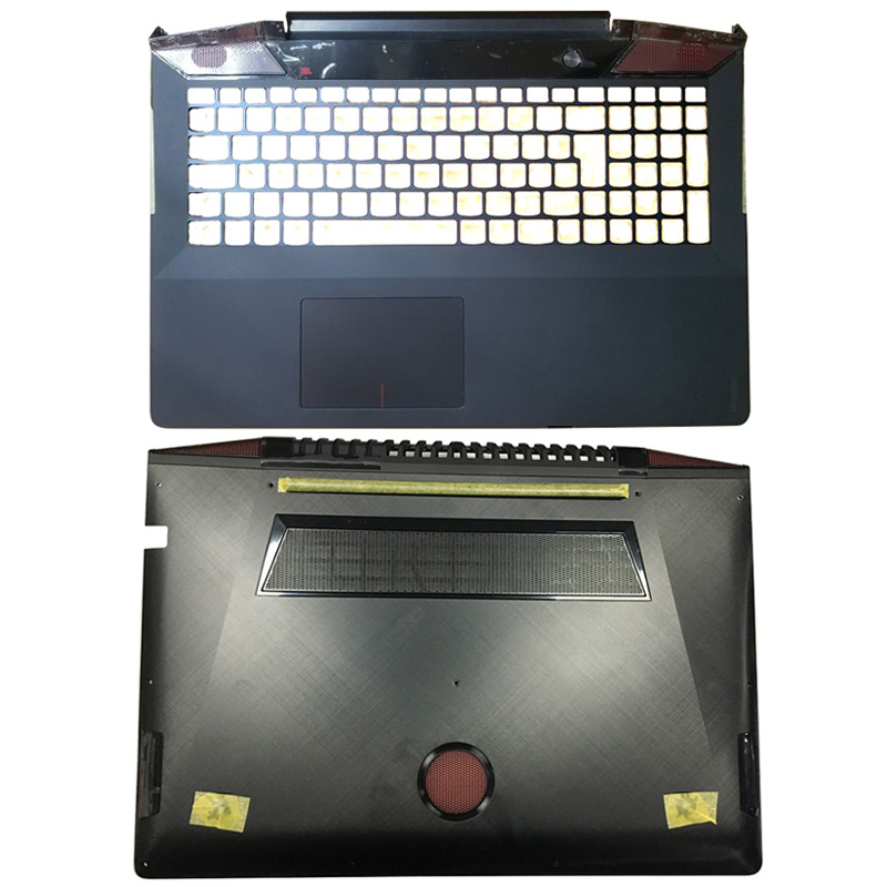 NEW For <font><b>Lenovo</b></font> Ideapad <font><b>Y700</b></font>-15 <font><b>Y700</b></font>-15ISK <font><b>Y700</b></font>-15ACZ Laptop Palmrest Upper <font><b>Case</b></font>/Bottom <font><b>Case</b></font> AM0ZF000100 5CB0K25512 AM0ZF000110 image