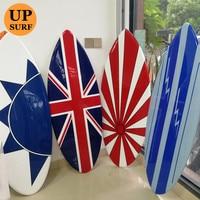 High quality EPS foam sup surf board swallow tail fiberglass skimboard