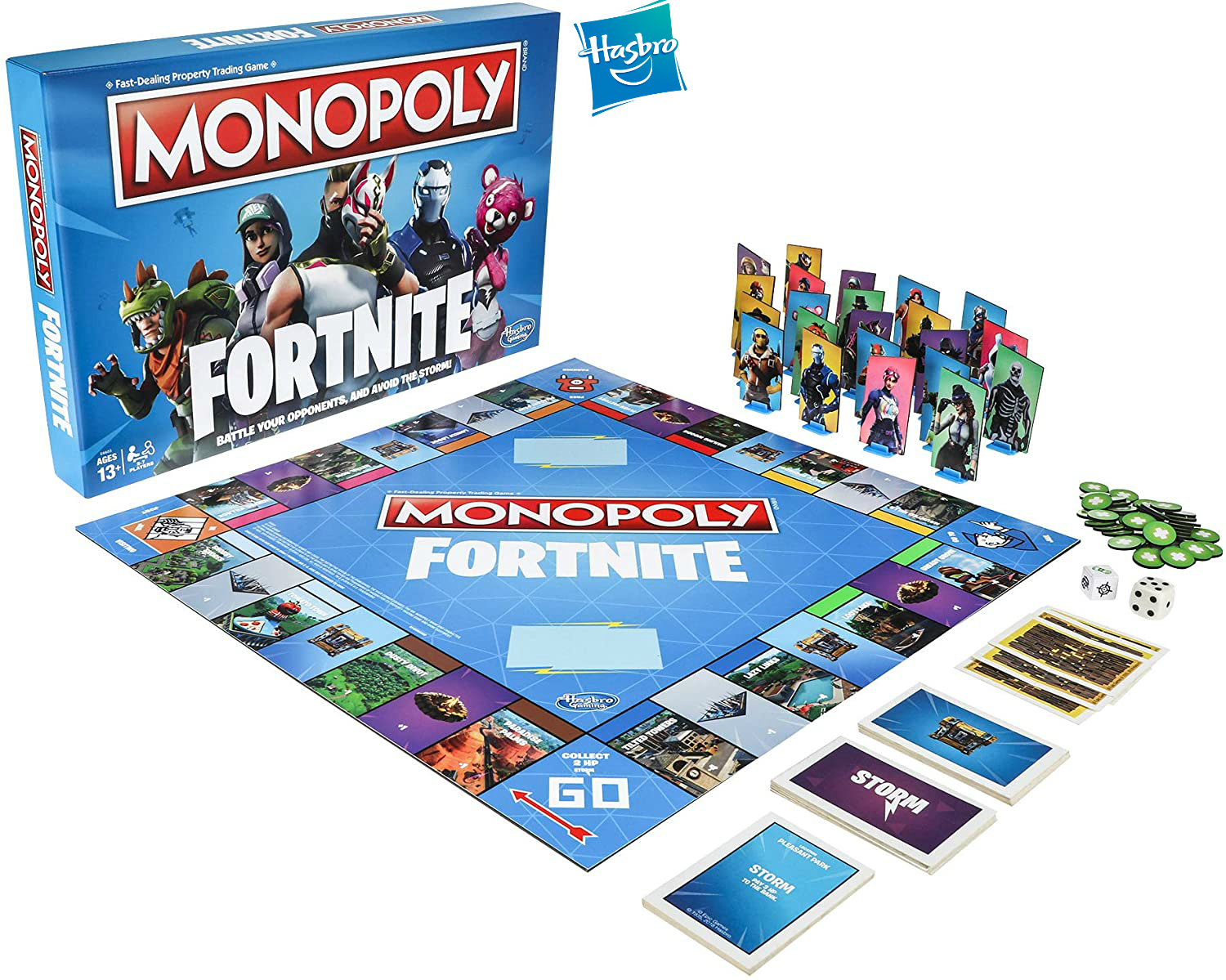 Hasbro Monopoly Fortnite Game of Board game inspired by fortrite Monopoly Fortress night millionaire board game Party toys