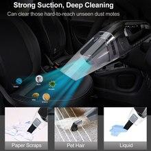 GRIKEY Car Portable Vacuum Cleaner Auto Aspirador Coche