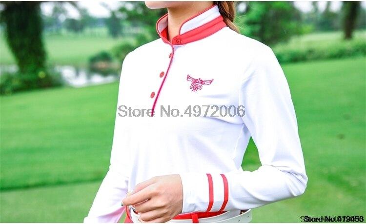golfe profissional respirável macio roupas esportivas manga