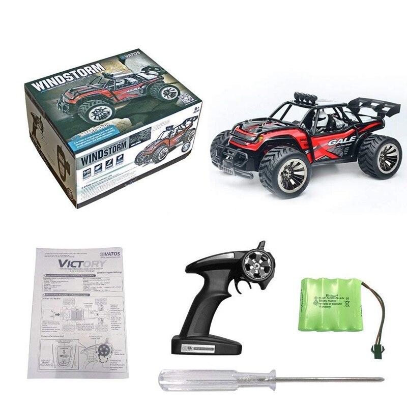 Радиоуправляемый автомобиль с дистанционным управлением, 1:16, масштаб 2,4 ГГц, гоночный грузовик, внедорожный Электрический высокоскоростно... - 5