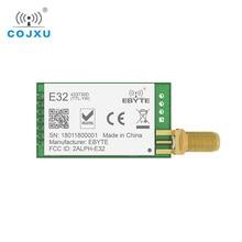 Bateria sx1278 sx1276 txco, 433mhz 1w rf módulo E32 433T30D bateria transmissor uart 433t30d longo alcance 8000m sem fio transmissor rf