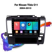 """Eastereggs 9 """"Voor Nissan Tiida 2004 2013 Auto Radio Multimedia Video Player Navigatie Android 2din Geen Dvd Hoofd unit"""