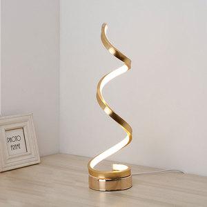 Image 2 - Modern LED Table Lamps Indoor Decoration Desk Lights Bedroom Reading Lighting 24W EU/US Plug Bedroom Study Desk Lamp Nordic