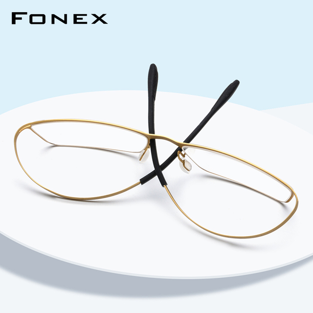 B Titanium Eyeglasses Frame Men Prescription 2019 Ultralight Full Elastic Myopia Optical Glasses Frame Man Screwless Eyewear 874