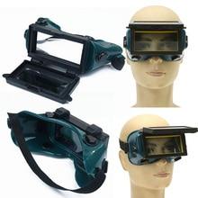 Auto Darkening Welding Helmet Glasses Welder Mask Welding Goggles Eyeshade Patch Chameleon MIG/TIG Welding Protection Tool