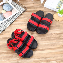 Men Slippers Hasp Drag Leisure Lightweight Sandals Soft Bottom Outdoor Non-slip Plus Fat Sandals(China)