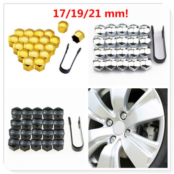 Car Wheel Nut Cap tire Hub Screw Cover 17/19/21 Bolt Protector for BMW all series 1 2 3 4 5 6 7 X E F-series E46 E90 F09 image