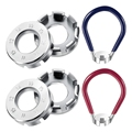 6 шт. велосипедный спицевой гаечный ключ  велосипедные карманные инструменты  набор велосипедных спицевых гаечных ключей  велосипедное кол...