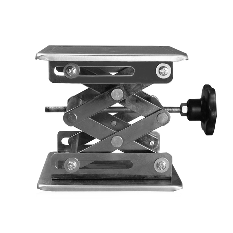 Laboratory Lifting Platform Router Lift Woodworking Engraving Lab Lifting Stand Rack Lift Adjustable Drill Mini Table Bench