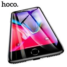 HOCO غطاء كامل واقية الزجاج المقسى آيفون 7 8 Plus ثلاثية الأبعاد حامي الشاشة آيفون 8 7 حماية على فيلم