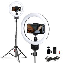 9inch LED Selfie Ring Light With Tripod Stand For Makeup/Live Stream,YouTube Video Live Photo Photography studio led selfie ring light tripod 26cm photo studio photography photo fill ring lamp with tripod stand for youtube live video makeup